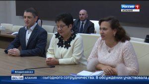 Таймураз Тускаев обсудил перспективы сотрудничества с Финансовым университетом при правительстве РФ