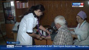 За время работы программы «Земский доктор» в села республики удалось привлечь 125 медработников