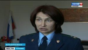 Суд заключил под стражу  экс-прокурора Затеречного района Владикавказа