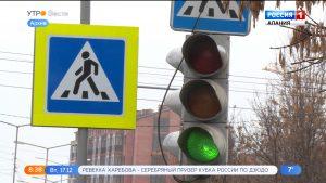 На магистральных улицах Владикавказа провели модернизацию светофорных объектов