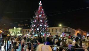 Главную елку республики зажгли во Владикавказе