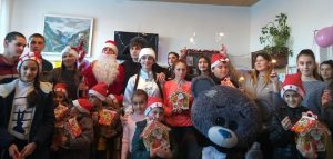 Волонтеры Эльхотовского колледжа организовали праздник для детей с ОВЗ