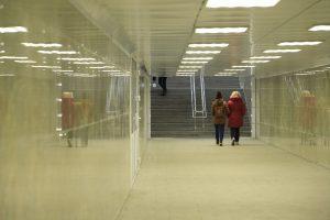 Подземный переход на Архонском кругу открылся после реконструкции