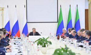Глава Северной Осетии принял участие в заседании совета при полпреде президента России в СКФО
