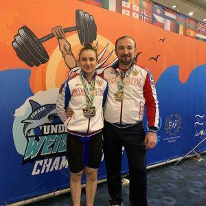 Мадина Келехсаева завоевала «золото» первенства Европы по тяжелой атлетике