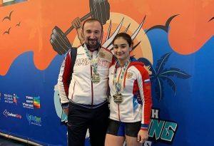 Зарина Гусалова выиграла первенство Европы по тяжелой атлетике