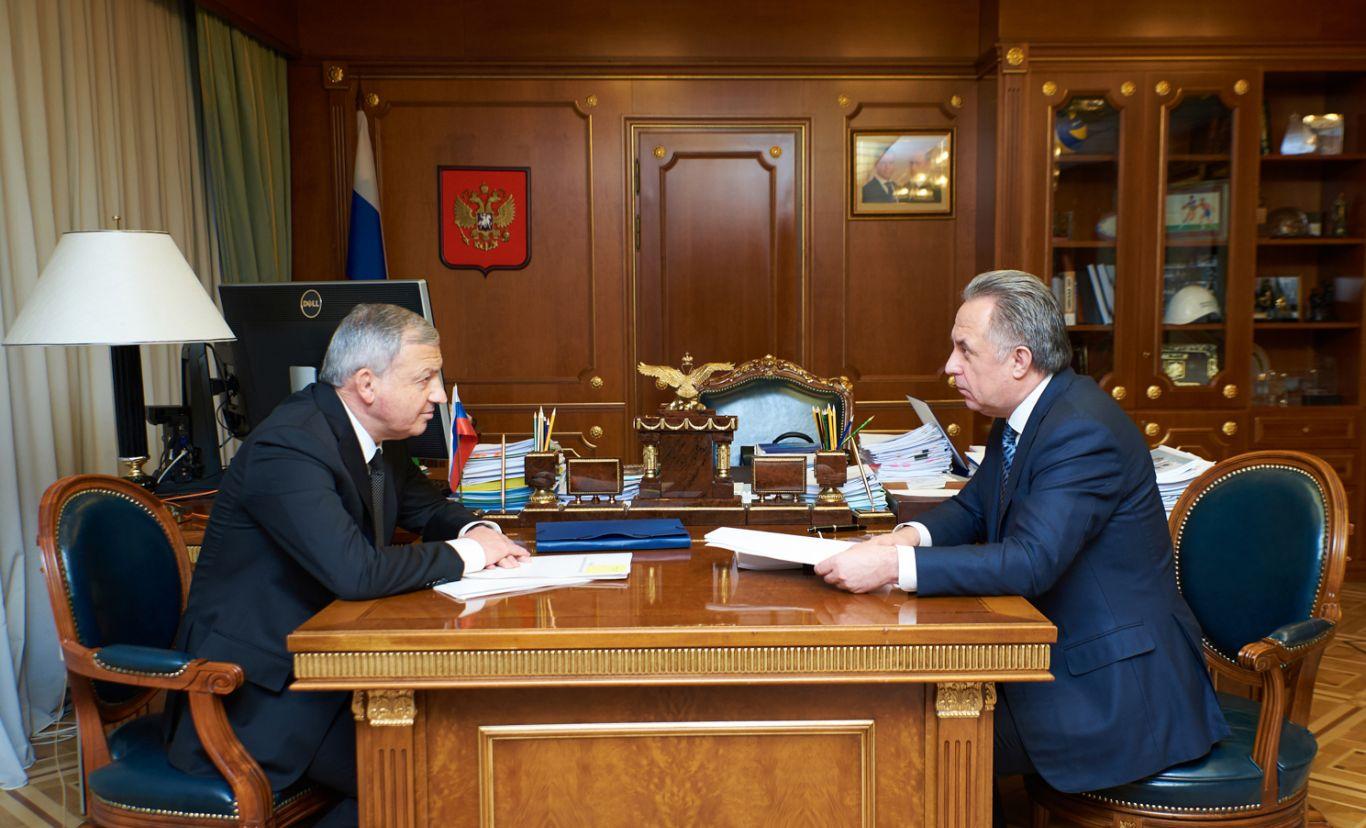 Вячеслав Битаров встретился с Виталием Мутко