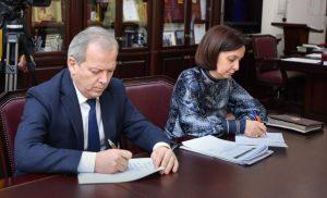 Вячеслав Битаров провел рабочую встречу с министром культуры Эльбрусом Кубаловым