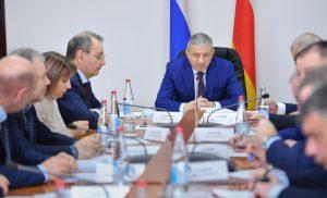 Вопросы социально-экономического развития Моздокского района обсудили на совещании в райцентре