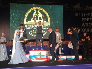 Сослан Рамонов одержал победу на международном турнире «Аланы»