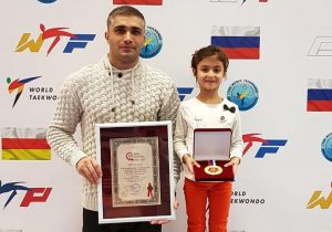 Тхэквондистка Мария Пухова занесена в Книгу Рекордов России