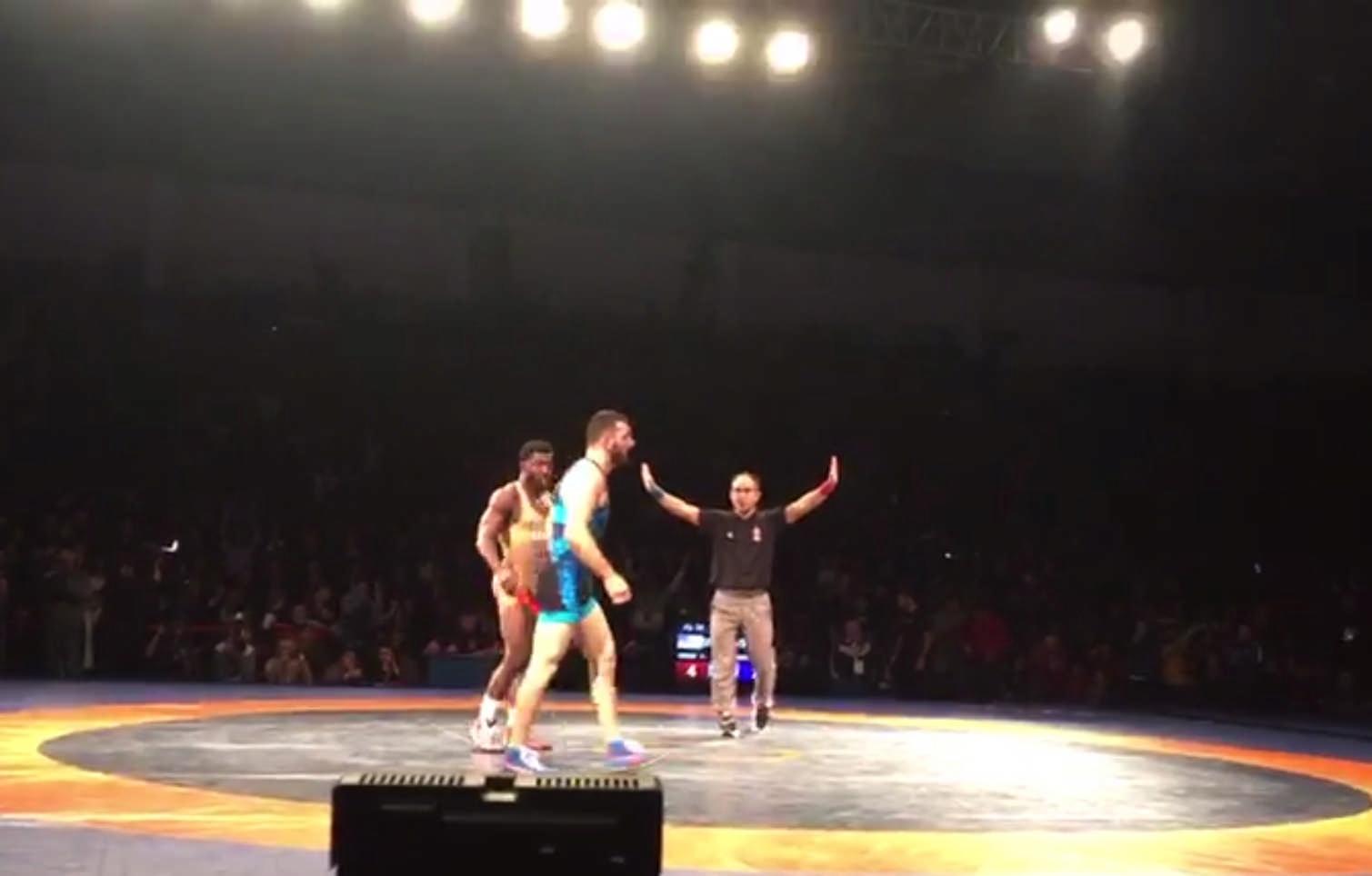 Хетаг Цаболов взял первое «золото» североосетинской команды на международном турнире «Аланы»