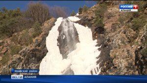 В Дигорском ущелье открыли новую экотропу к водопаду Байради