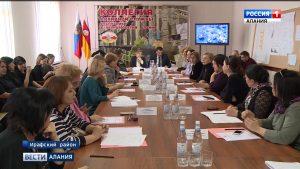 В Ирафском районе прошло выездное заседание коллегии Архивной службы РСО-А