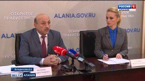 Вице-премьер Ахсарбек Фадзаев ответил на вопросы журналистов в рамках проекта «Открытое правительство»