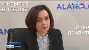 Ирина Азимова ответила на вопросы журналистов в рамках проекта «Открытое правительство»