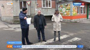 Масштабный ремонт дорог в Моздоке проинспектировали эксперты ОНФ