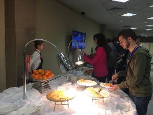 Осетинские пироги стали самым популярным угощением на пресс-конференции президента