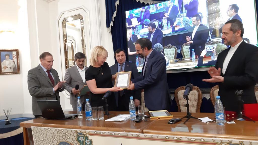 Посол Ирана в России наградил СОГУ за выдающуюся работу в изучении персидского языка