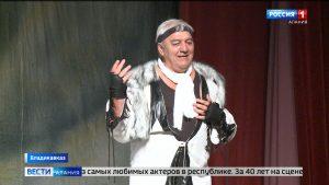 Заслуженный артист России Сурен Хугаев отметил 65-летие