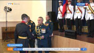Суворовское училище отмечает 76-летие со дня образования
