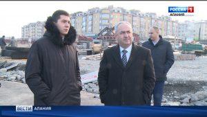 В Северной Осетии продолжается строительство и реконструкция социально важных объектов
