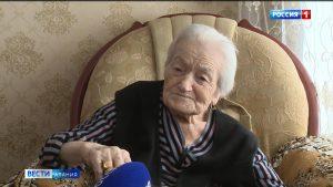 Ветеран Венера Ходова-Дзуцева отметила вековой юбилей
