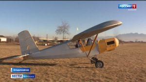 Водитель большегрузов из Северной Осетии занимается конструированием самолетов