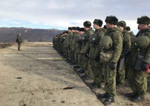 В Северной Осетии начались сборы с командирами взводов и рот мотострелкового соединения ЮВО