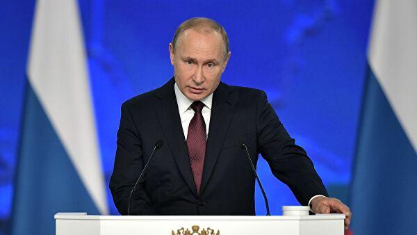 Путин поручил выплачивать малообеспеченным семьям пособия на детей от 3 до 7 лет