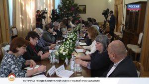 Открытое правительство. Встреча Вячеслава Битарова с руководителями СМИ