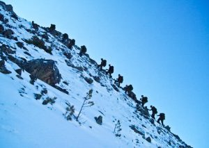 Разведчики ЮВО приступили к спецзанятиям на горном полигоне «Дарьял»