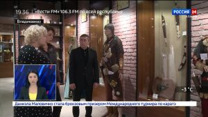 Глава Минпромтранса республики Хайдарбек Бутов посетил Центр народных промыслов