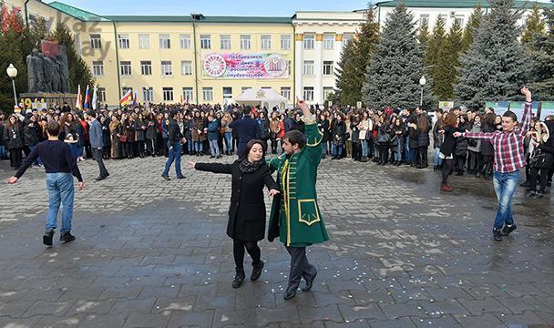 В СОГУ Татьянин день отметят студенческими гуляниями с национальным колоритом