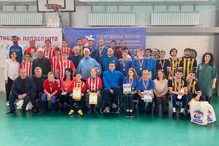 В Северной Осетии стартовали республиканские соревнования среди спортсменов с ПОДА