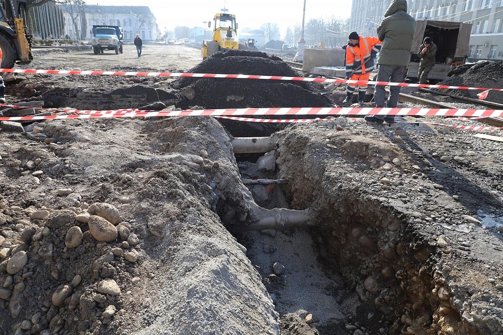 Реконструкцию проспекта Мира планируют полностью завершить после майских праздников