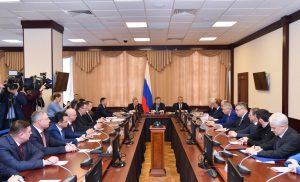 Вячеслав Битаров принял участие в церемонии представления нового полпреда президента в СКФО