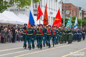 Военнослужащие ЮВО приступили к подготовке празднования 75-й годовщины Победы