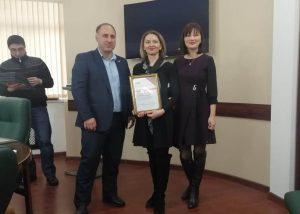 ОНФ вручил благодарственные письма представителям СМИ республики