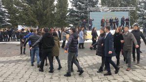 В СОГУ прошли массовые гуляния, посвященные Дню российского студенчества