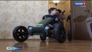 Русланбек Икаев исполнил желание 7-летнего Георгия Бикоева из Южной Осетии