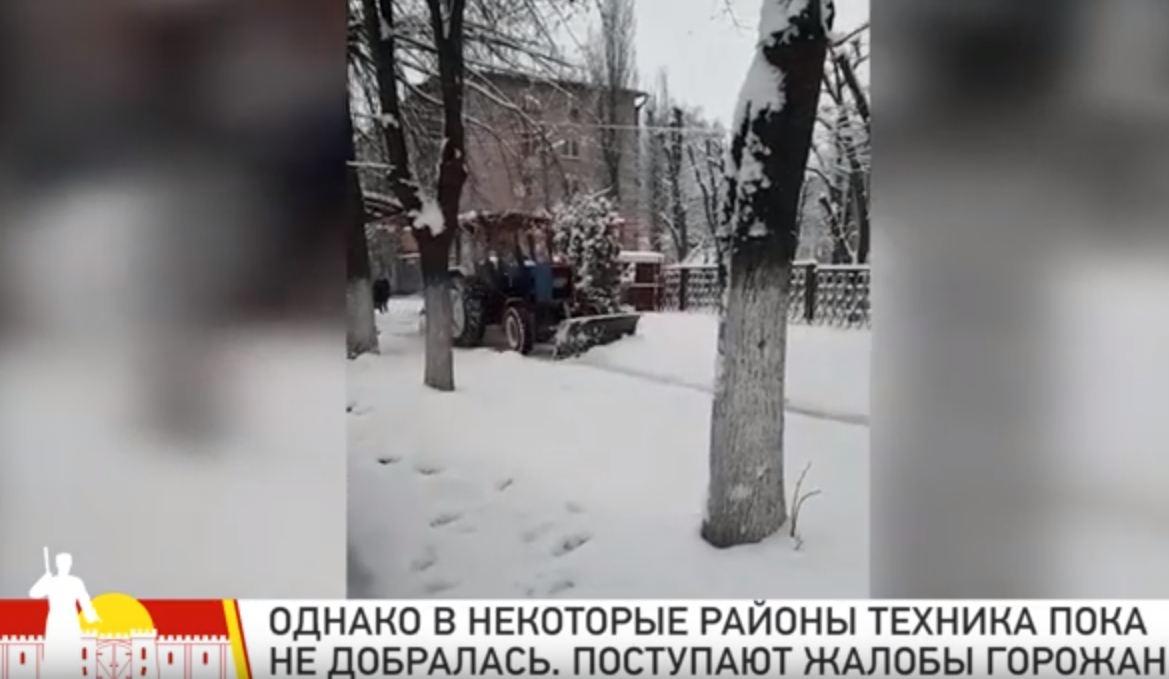 Общественный совет Владикавказа мониторит процесс уборки снега на улицах города