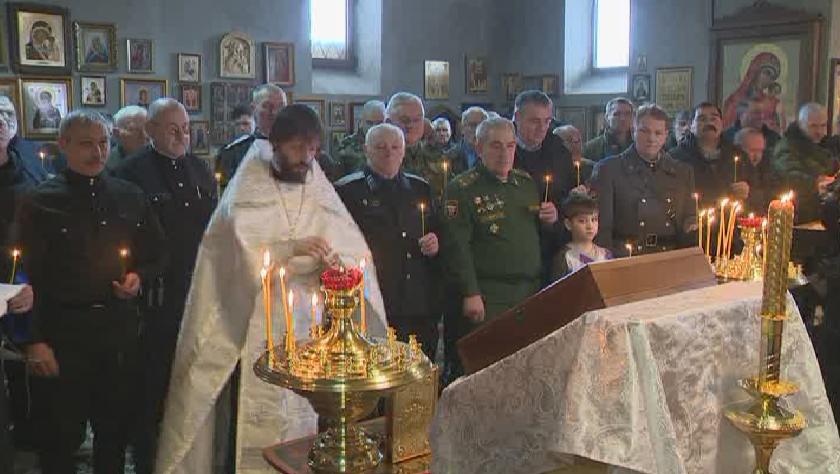 Во Владикавказе почтили память жертв геноцида казачества