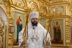 Архиепископ Леонид поздравил православных христиан с Рождеством Христовым