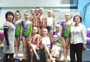 Юные гимнастки из Владикавказа успешно выступили на открытом турнире в Сочи