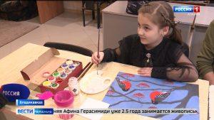 Юная художница из Владикавказа Афина Герасимиди стала победительницей международного фестиваля искусств