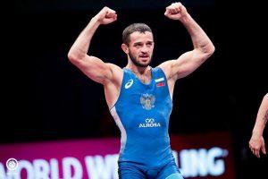 Виталий Кабалоев вышел в финал чемпионата России по греко-римской борьбе