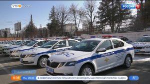 Автопарк Госавтоинспекции пополнили 30 новых машин