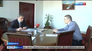 Глава Владикавказа Русланбек Икаев провел прием граждан