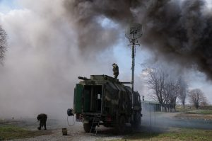 Военнослужащие ЮВО провели в Северной Осетии радиотренировку на средствах связи нового поколения